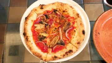 六本木のイタリアン「ぶどう酒食堂さくら」でいただいた石釜で焼いたピザのランチがうまかった!