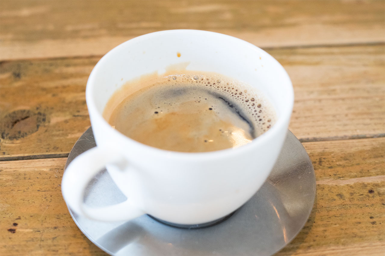 バーガーズベースのコーヒー