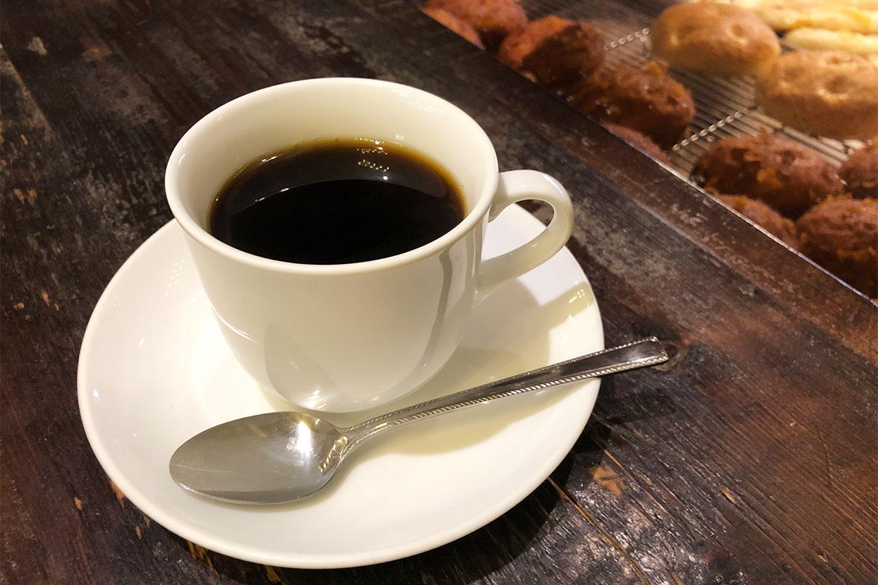 武蔵小山のパン屋「nemo」のコーヒー