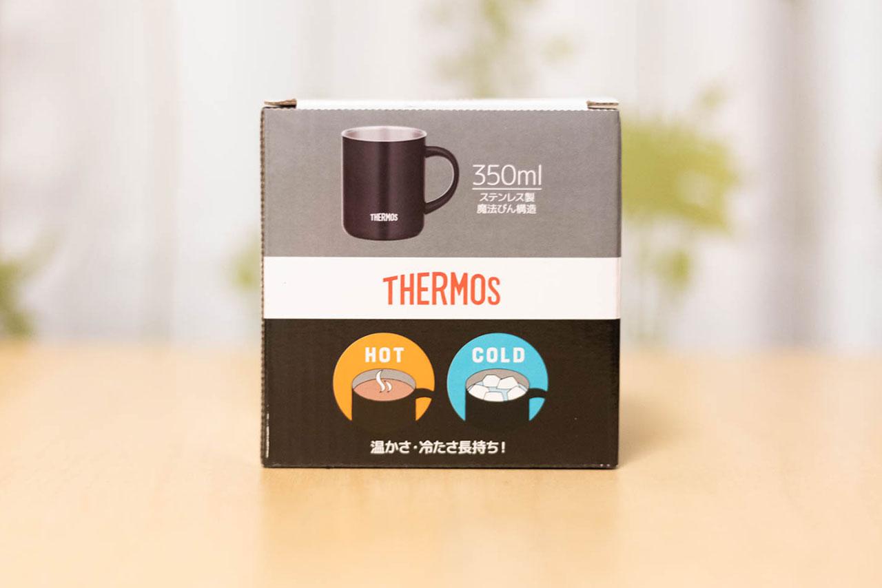 サーモス真空断熱マグカップの箱