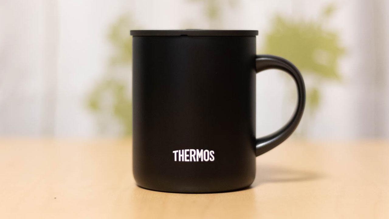 サーモス真空断熱マグカップを購入!熱いものは熱いまま、冷たいものは冷たいまま飲めるのは快適!
