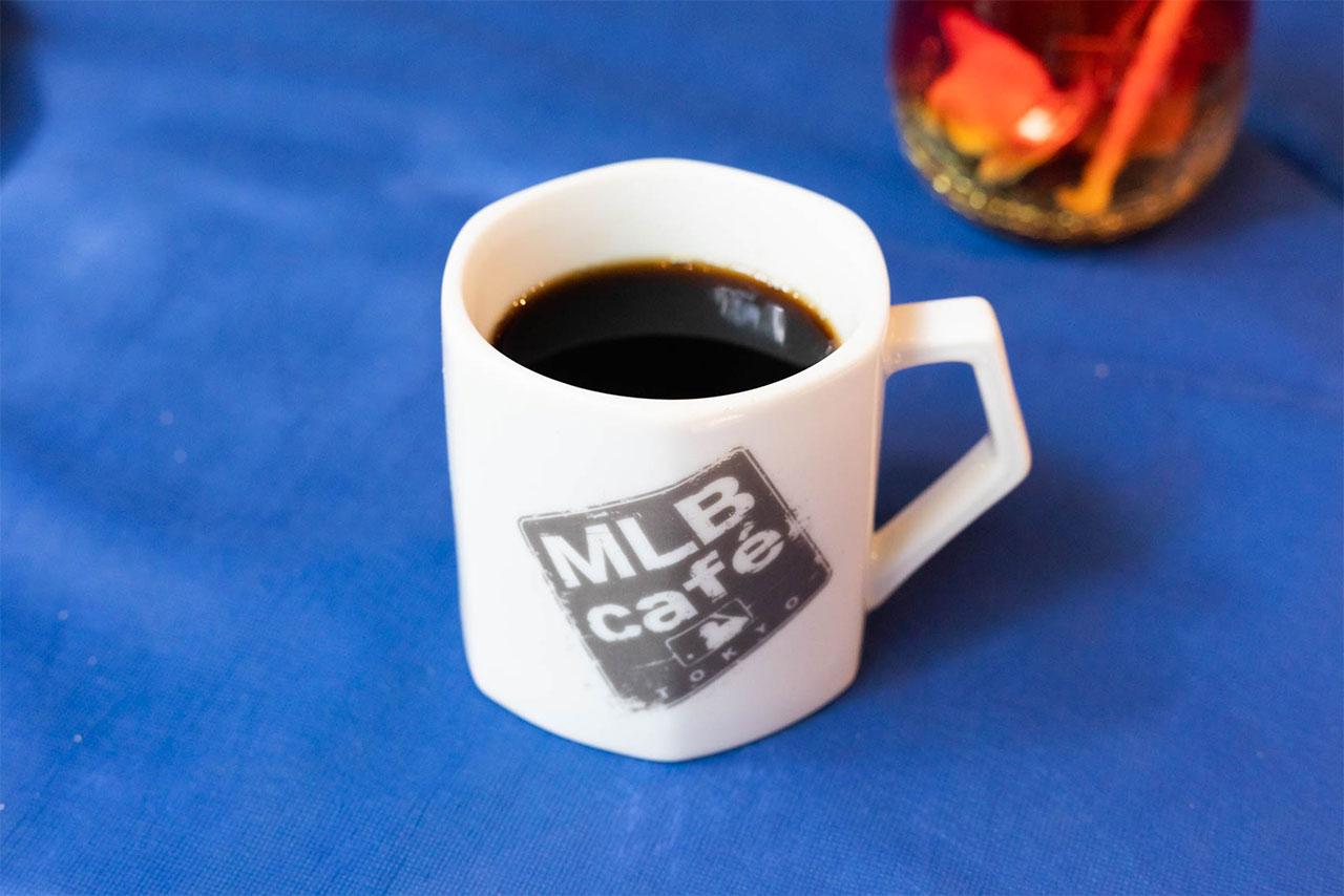 MLB Cafe Tokyoのホットコーヒー