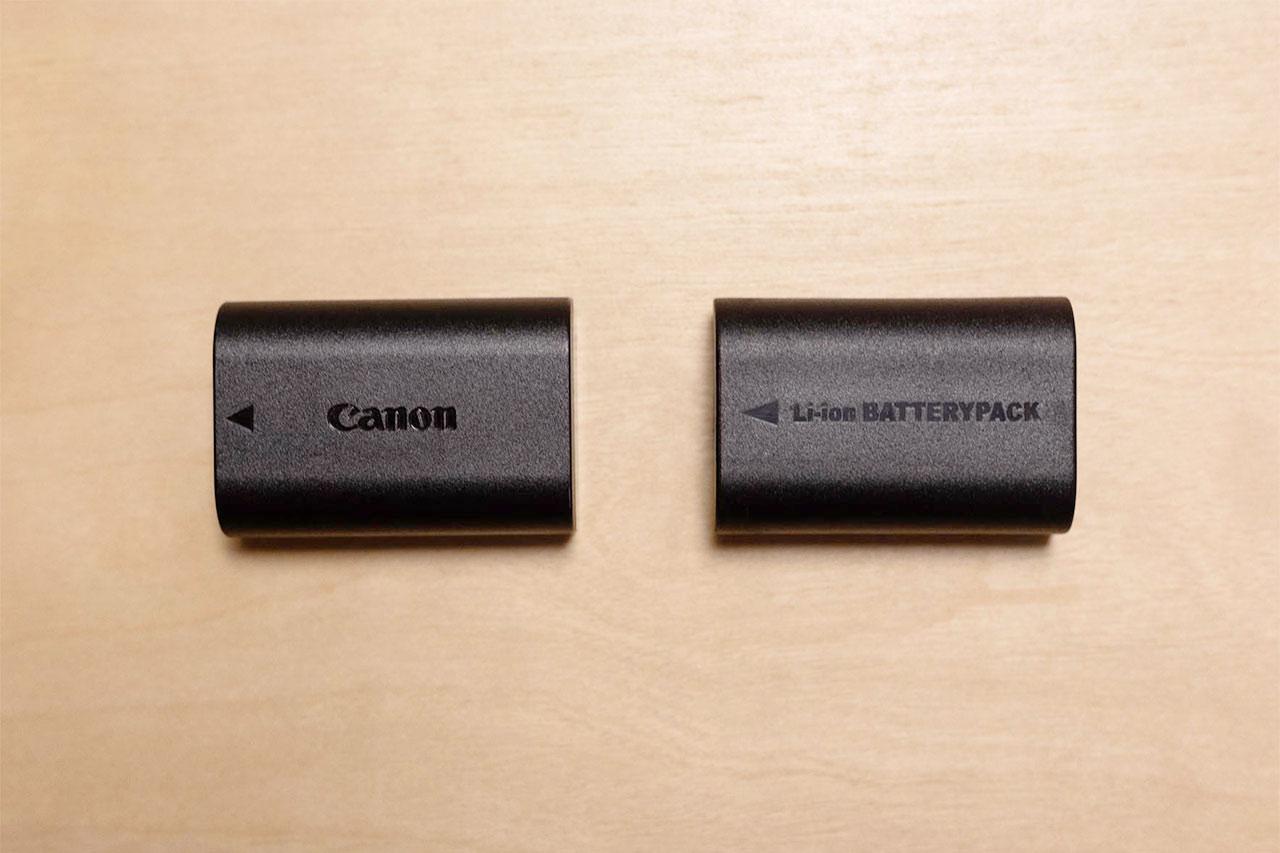 カメラのバッテリーは「純正バッテリー」「互換バッテリー」どちらを買うのが良いか