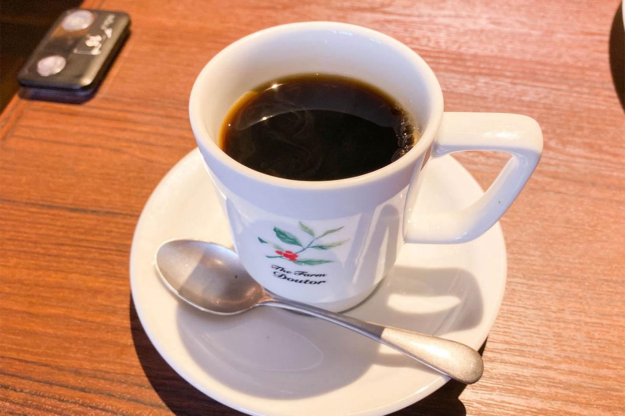ドトール珈琲農園のブレンドコーヒー