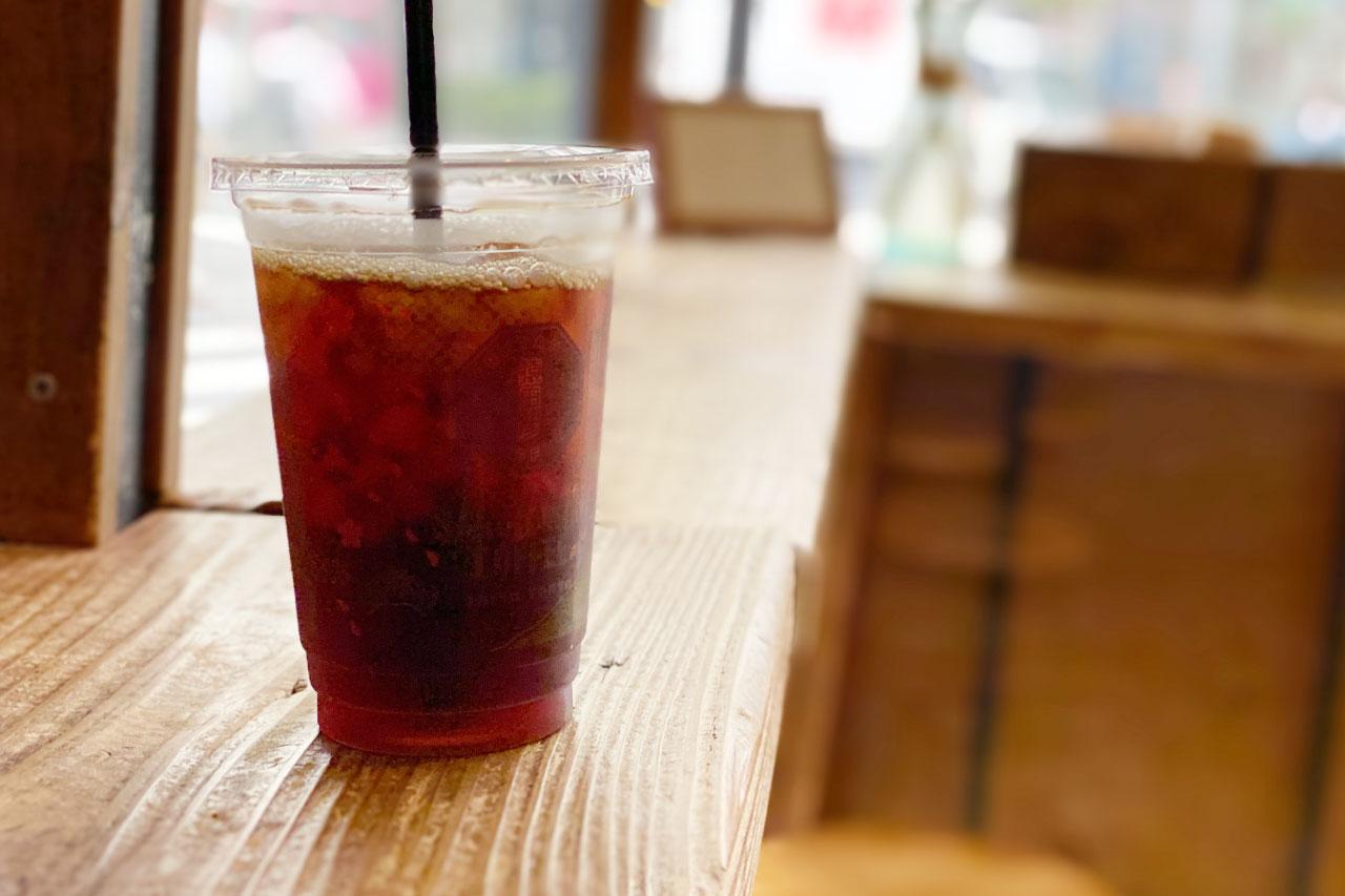 猿田彦珈琲の猿田彦フレンチのアイスコーヒー