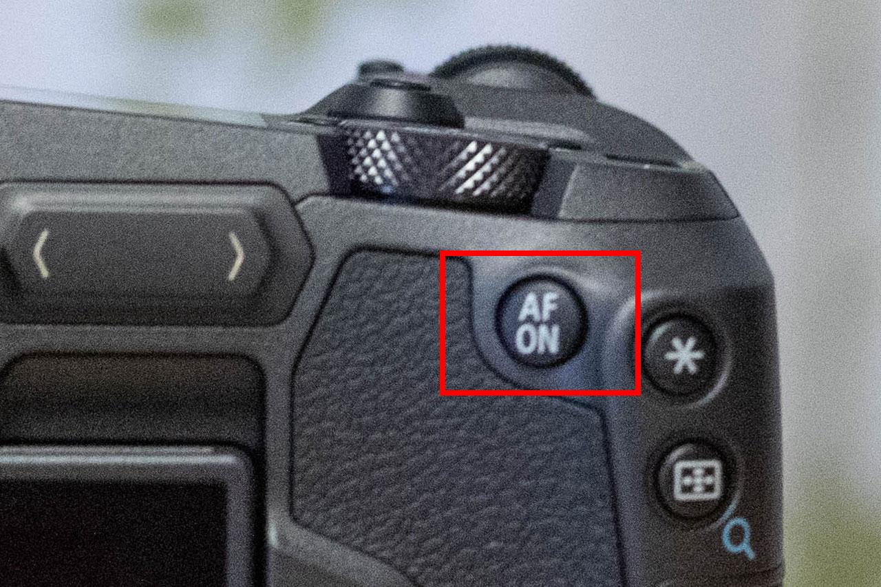 EOS Rの親指AFボタン