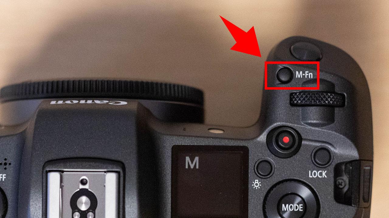 EOS Rのマルチファンクションボタン