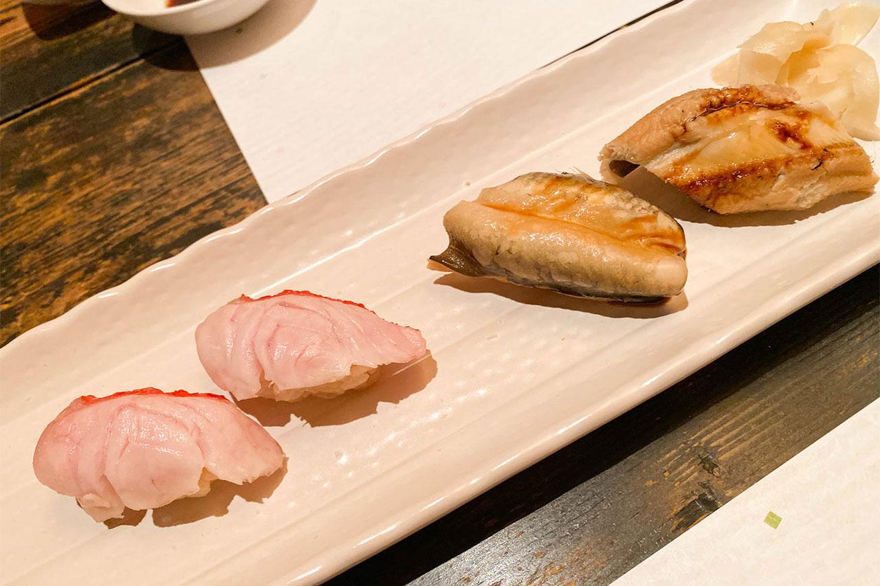 鮨かすみの握り寿司2