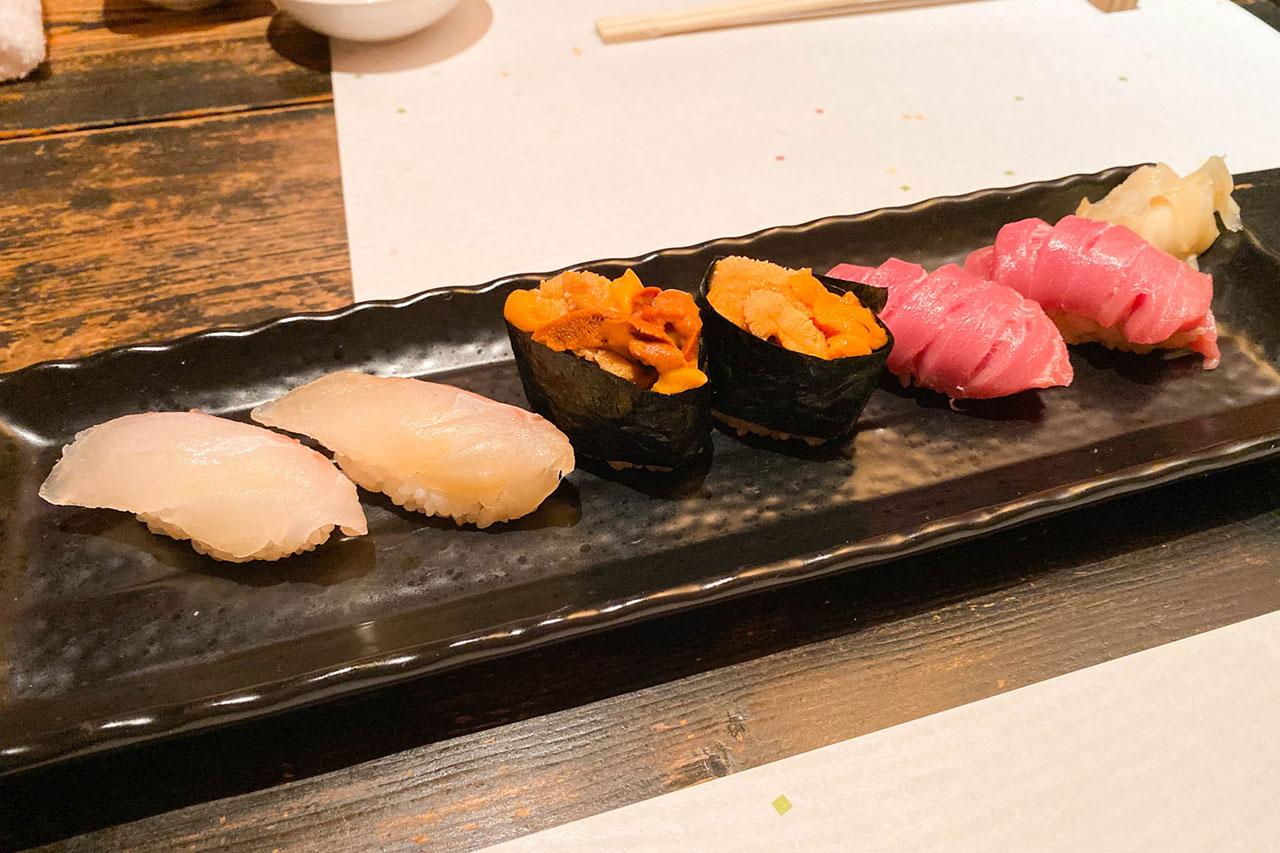 鮨かすみの握り寿司3