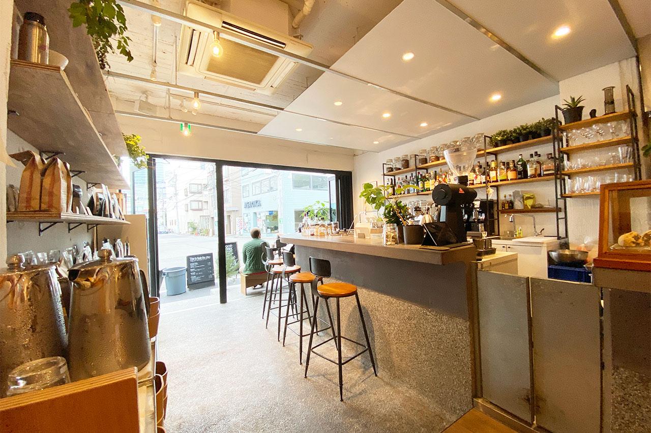 WOODBERRY COFFEE ROASTERS渋谷店の店内入口側