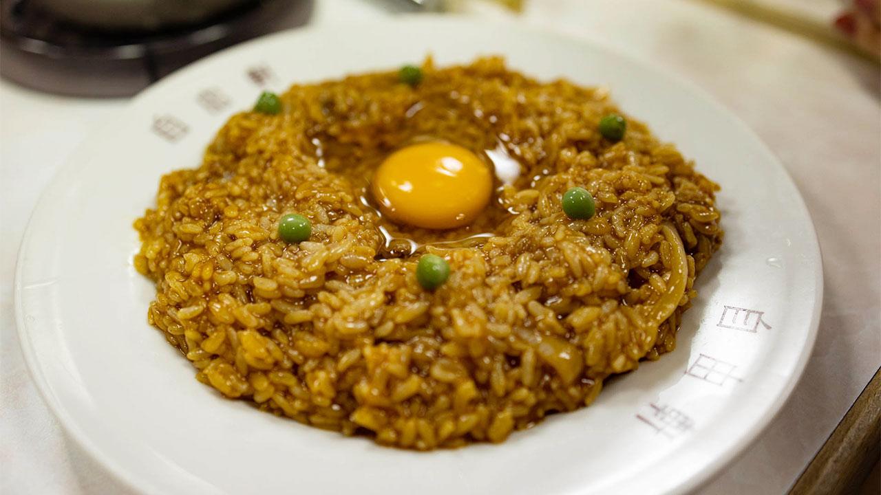 大阪難波「自由軒」のカレーライスとハイシライスがおいしい!独自進化した他では食べられないカレー!
