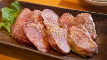 武蔵小山の焼肉屋「Beef Factory73」でランチ!サービスメニューの牛タン塩定食をいただきました!