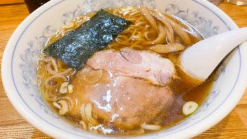 西小山の街中華「平和軒」なら昔ながらの王道醤油ラーメンと餃子が食べられる!
