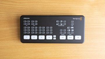 生配信で複数台のカメラを使えるように「ATEM Mini」を購入!良かった点とProとの違いをまとめました!