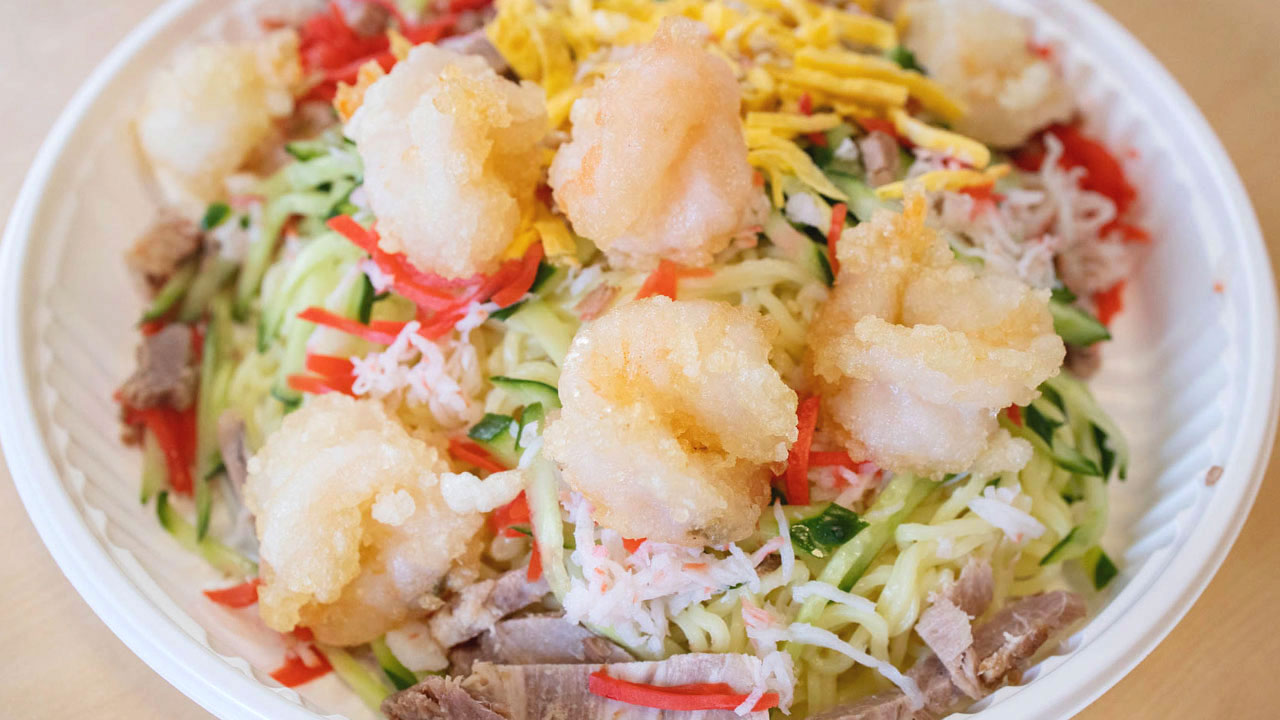 武蔵小山の街中華「中華料理とき」で人気の冷やし中華がうまかった!餃子も炒め物も最高!