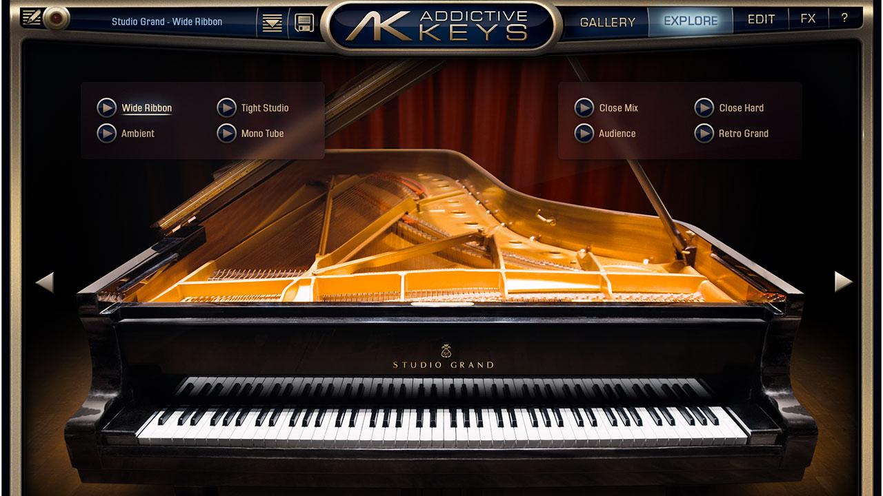 人気ピアノ音源「Addictive Keys Studio Grand」のプリセットが良すぎて音作りが下手でも即使える!