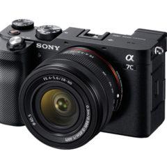 フルサイズミラーレスカメラ「SONY α7C」が軽くて小さくて高性能でしかもバリアングルディスプレイで最高!