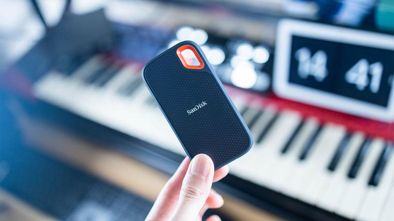 SanDiskの外付けSSDが小型で使いやすい