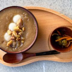 喫茶ベレーの「和栗のおしるこ」が栗を贅沢に味わえて最高!