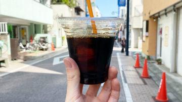 戸越銀座の焙煎珈琲豆専門店「コンパスコーヒー」で飲んだアイスコーヒーが濃くてうまかった!
