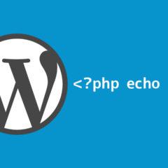 WordPressのコピーライトなどで表示する年を現在の年に合わせて自動で出力する方法
