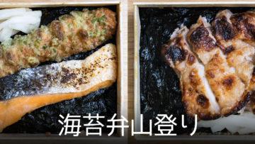 「海苔弁山登り」の海苔弁がうますぎる!冷めてこそおいしい最高の弁当でした!