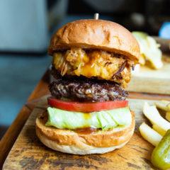 蔵前「McLEAN」の期間限定「天婦羅バーガー」がうますぎた!かき揚げとハンバーガーの相性凄すぎる!