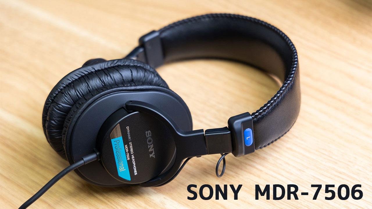 密閉型ヘッドホン「SONY MDR-7506」を購入!レコーディング用として1台持っておきたいヘッドホンでした!