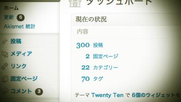 総記事数300記事達成しました