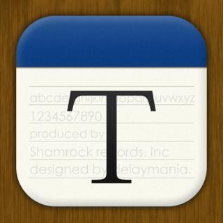 親指一本で簡単に操作できるテキストエディタアプリ「ThumbEdit」をリリースしました