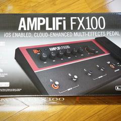 iPhoneでつまみをいじれるエフェクター「Line6 AMPLIFi FX100」が音も操作性も良くてすごい!