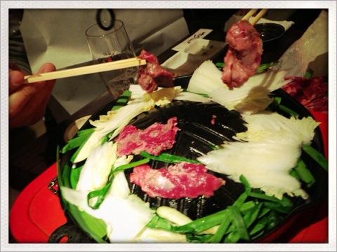 恵比寿の「馬肉屋たけし」で絶品馬肉料理を堪能してきました