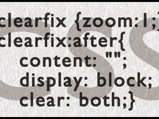 floatによる回り込みを解除する方法の1つ「clearfix」について