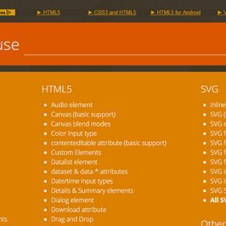 HTML5とCSS3のブラウザごとの対応状況が分かるサイト「Can I use」