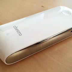 iPhone, Androidを2回ちょっと充電できる小型モバイルバッテリー「cheero Grip 3」を買いました!
