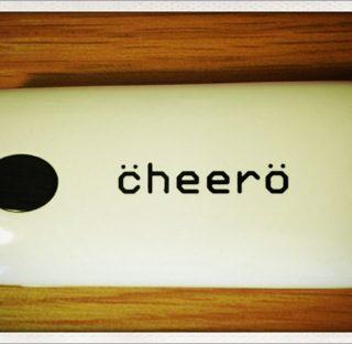 iPhoneの電池がすぐ無くなる人は必携!cheeroのモバイルバッテリーがいい感じ!