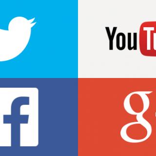 Twitter, Facebook, Google+, YouTubeのアイコンとカバー画像のサイズまとめ