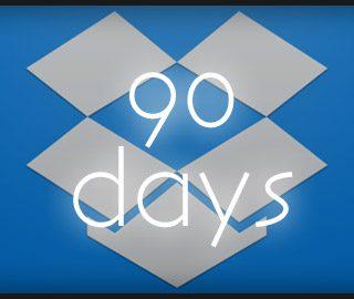 Dropboxの無料アカウントで90日間アクセスしないとファイルを削除される可能性があるらしい