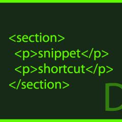 Dreamweaverでスニペットを登録してショートカットも割り当てる方法