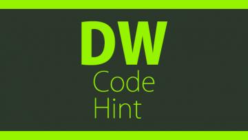 Dreamweaverのコードヒントをカスタマイズする方法