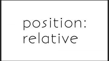 position:relativeを使ってfloatしたボックスを中央寄せにする方法