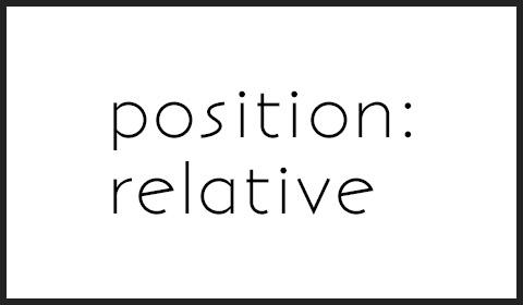 position relativeを使ってfloatしたボックスを中央寄せにする方法