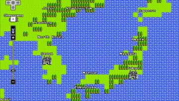 Googleマップがドラクエの地図というかフィールドになってたからひたすら眺めてしまった