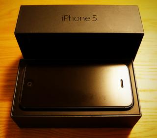 ドコモのガラケーからiPhone 5にMNPで乗り換えました