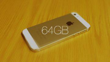 僕がiPhone 5sの64GBモデルを選んだ理由