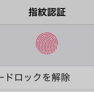 iPhoneの指紋認証で複数の指を登録する方法