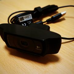 ビデオチャット用に高画質WEBカメラ「ロジクール HD Pro Webcam C920」を買いました