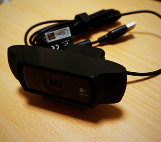 ハングアウト用に高画質WEBカメラ「ロジクール HD Pro Webcam C920」を買いました