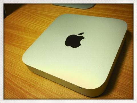 Mac miniがFusion Drive乗っけてうちにやってきた