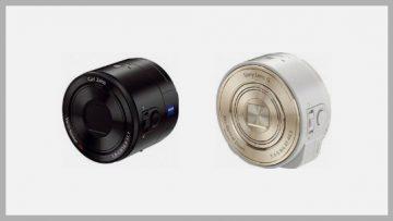 ソニーのレンズスタイルカメラDSC-QX10とDSC-QX100が日本で発売開始されたのにどっちを買えばいいかまだ迷ってます